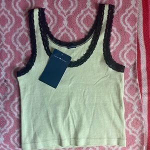 Brandy Melville Ronnie Lace Tank